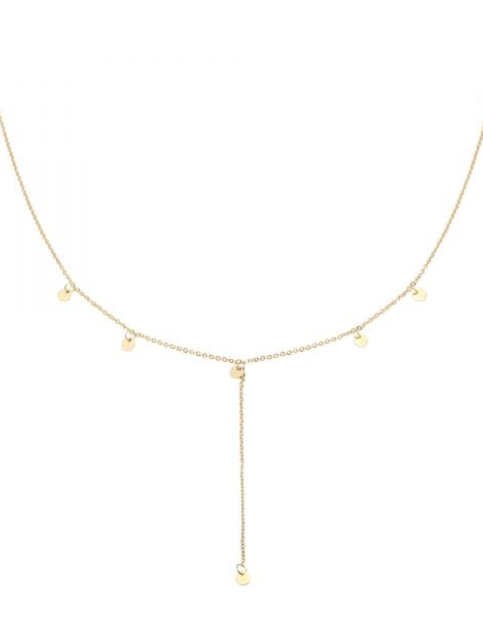 Necklace joy gold