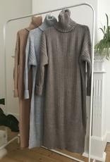 IG Knit dress Camel