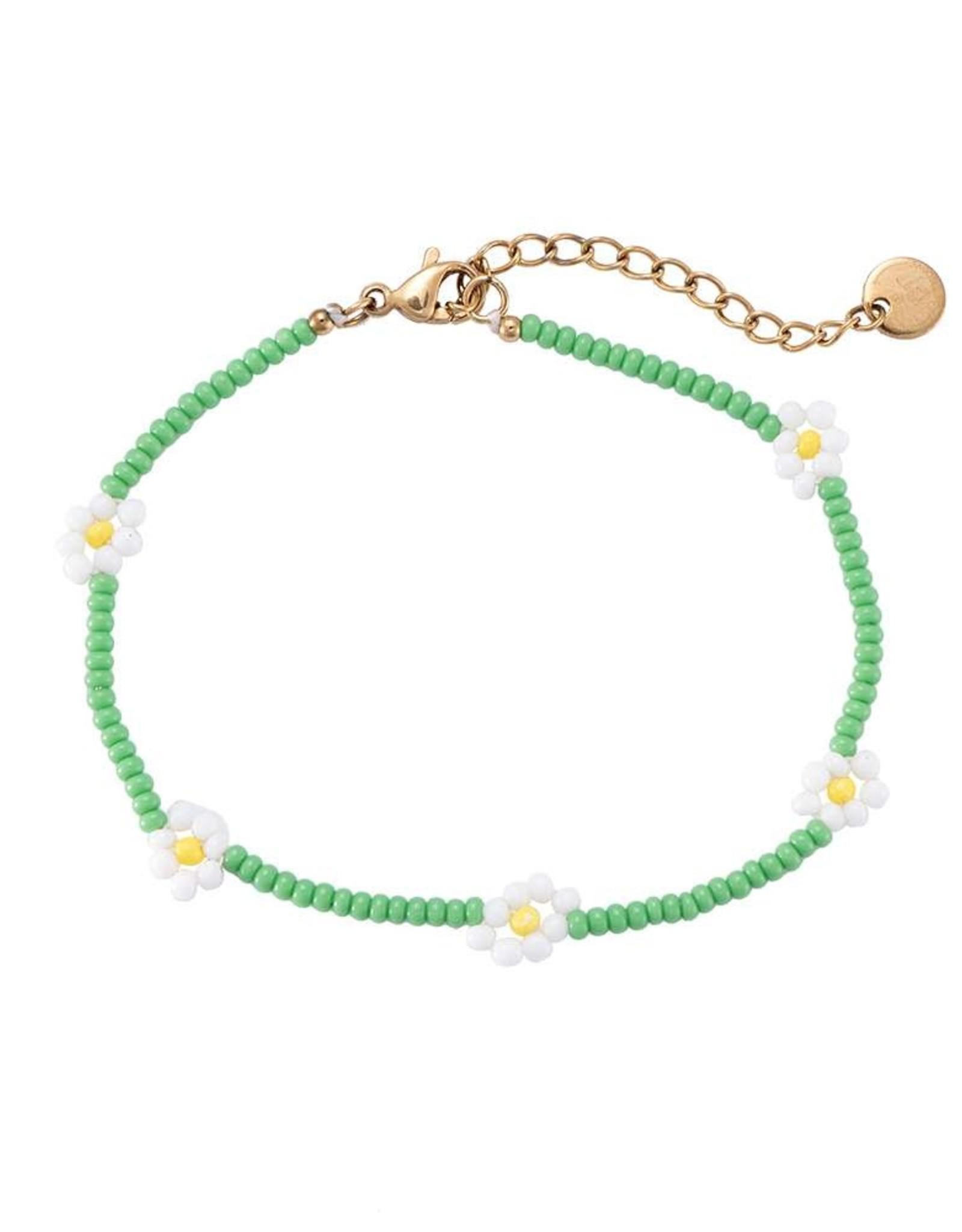 "Bracelet ""Daisy"" green"