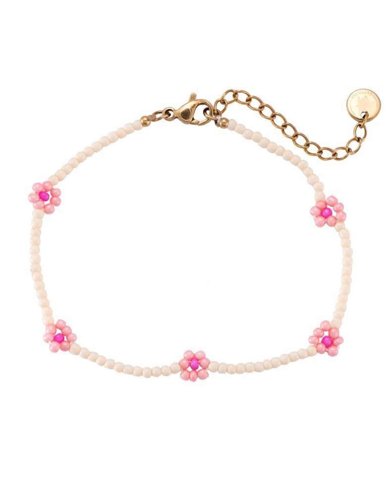 """Bracelet """"Daisy"""" pink"""