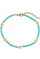 """Bracelet """"Daisy"""" blue"""
