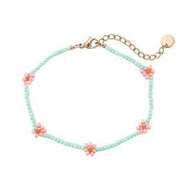 """Bracelet """"Daisy"""" mint"""