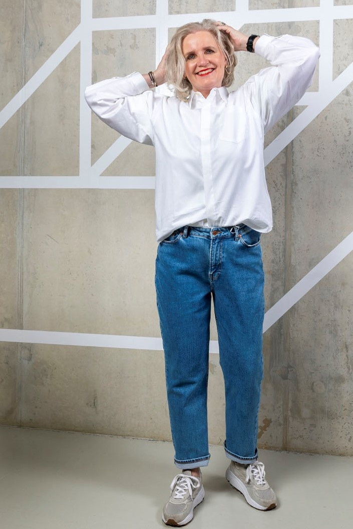 marianne jeans - light ozone marble-3