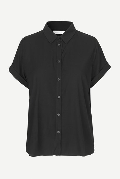majan shirt | black