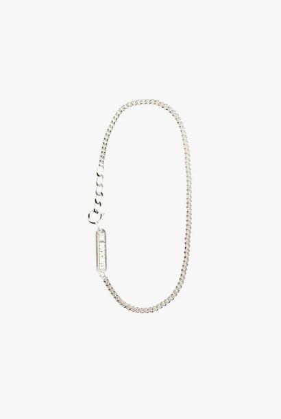 bracelet facet cable 2,5mm   silver