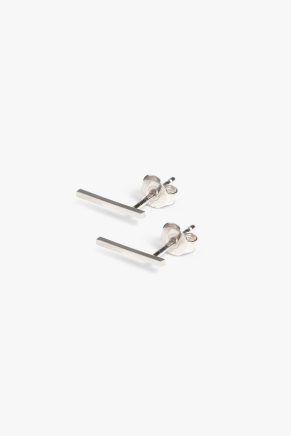 earring frontier L | silver - pair-1