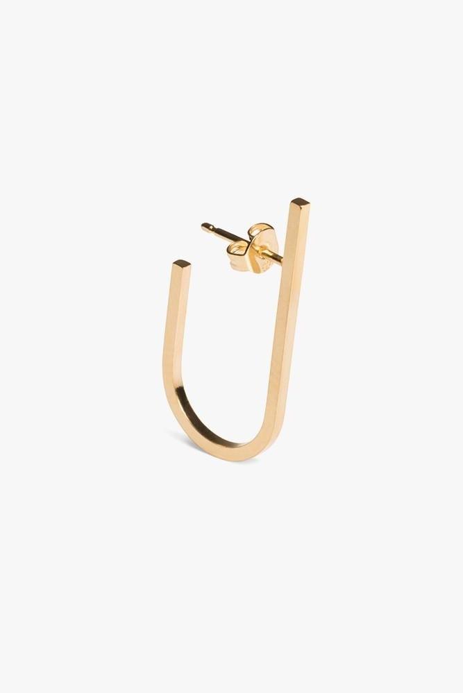 earring rivet | gold - single-2