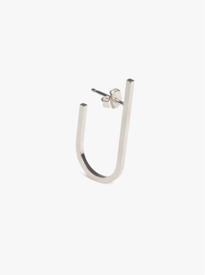 earring rivet   silver - single-1
