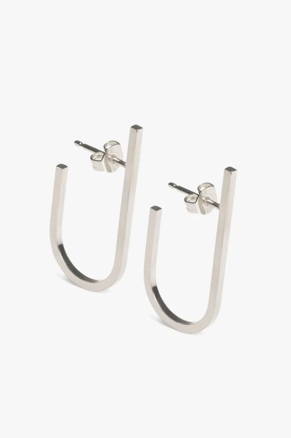 earring rivet | silver - pair-1