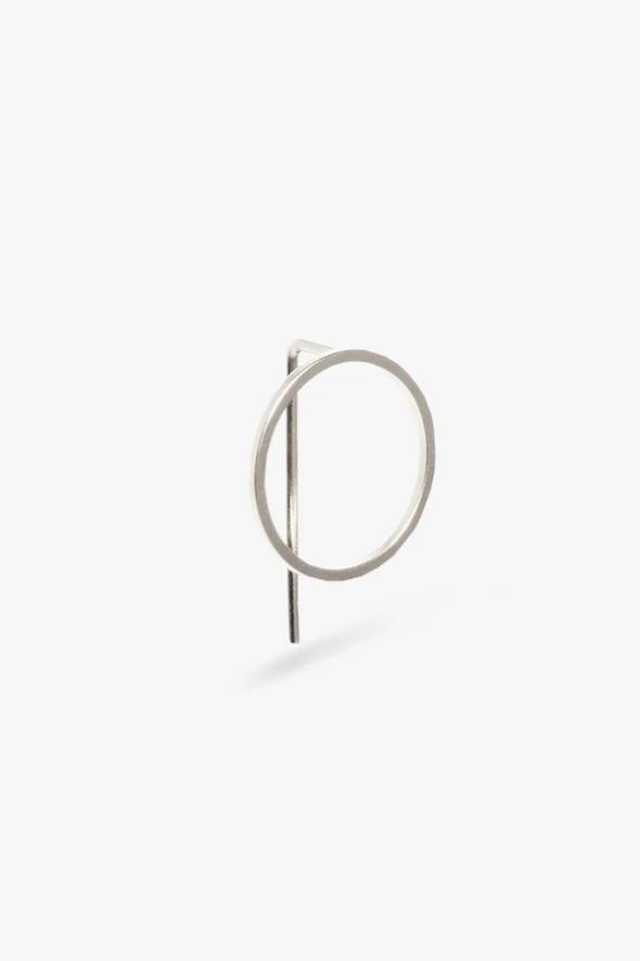 earring element stud | silver-1