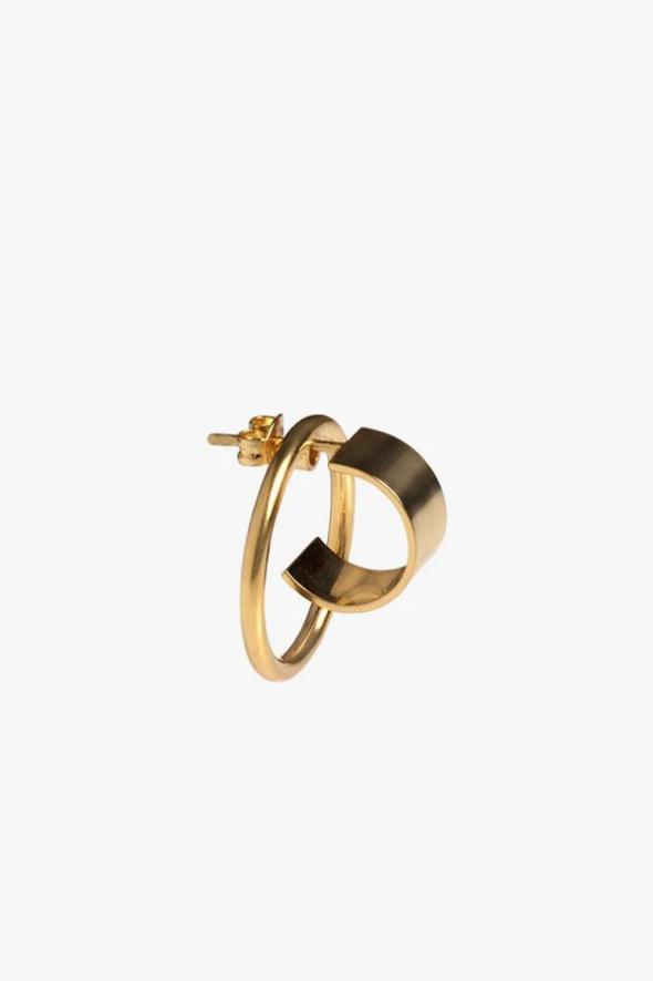 earring atlas | gold - single-1