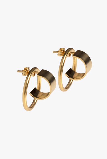 earring atlas | gold - pair