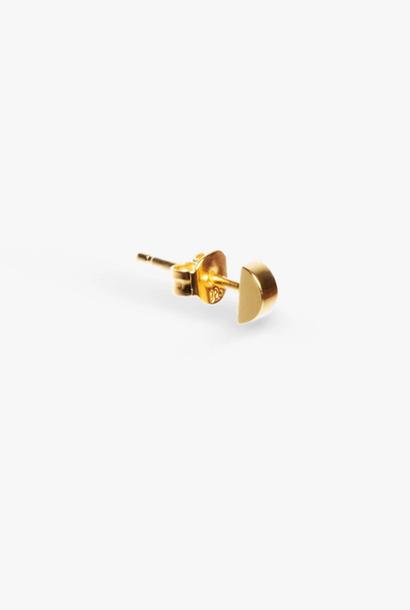 earring bit nail | gold - single