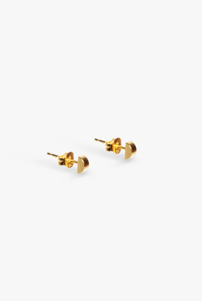 earring bit nail | gold - pair