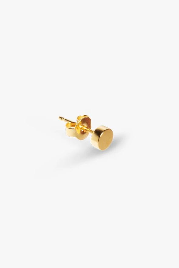 earring bit peg   gold - single-1