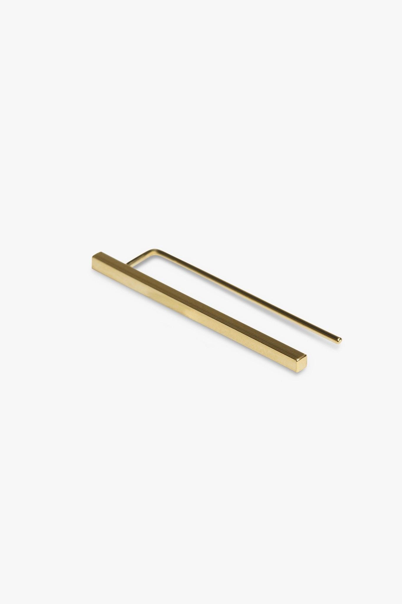 earring antenna | gold - pair-3