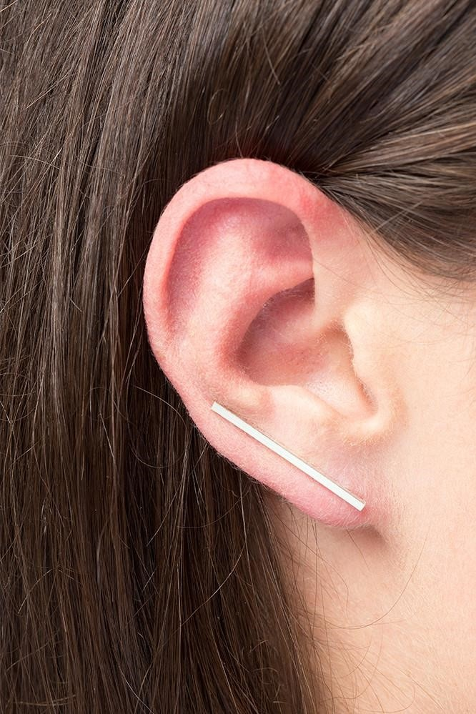 earring antenna | gold - pair-2