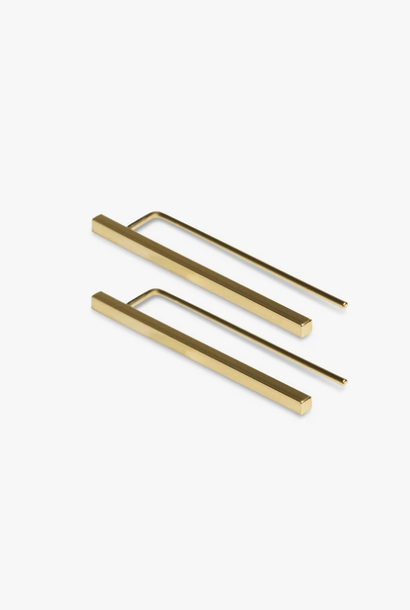earring antenna | gold - pair