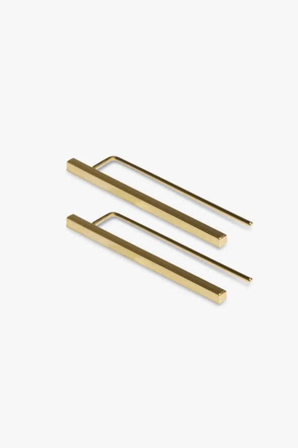 earring antenna | gold - pair-1