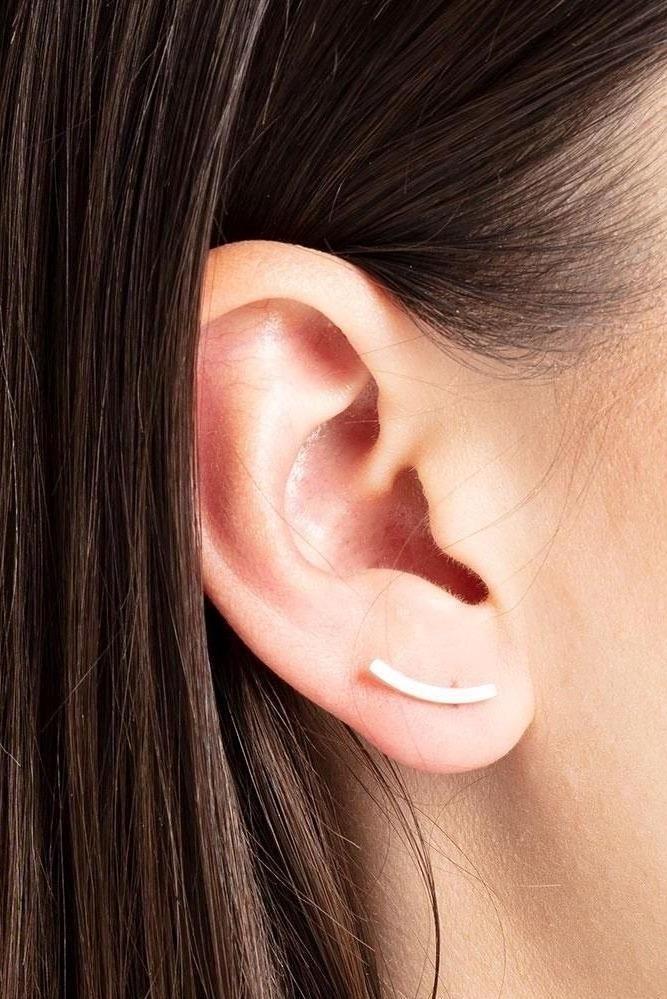 earring bit tack | silver-3