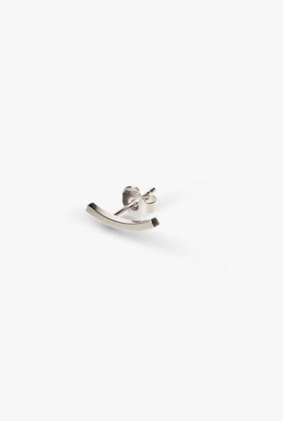 earring bit tack | silver
