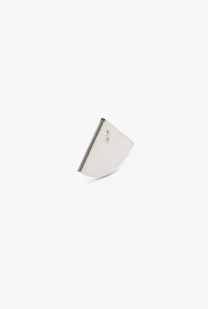 earring bit quarter | silver