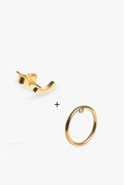 set bit / bit circle | gold