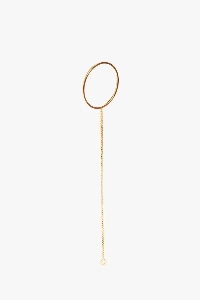 earring cord round   gold-1