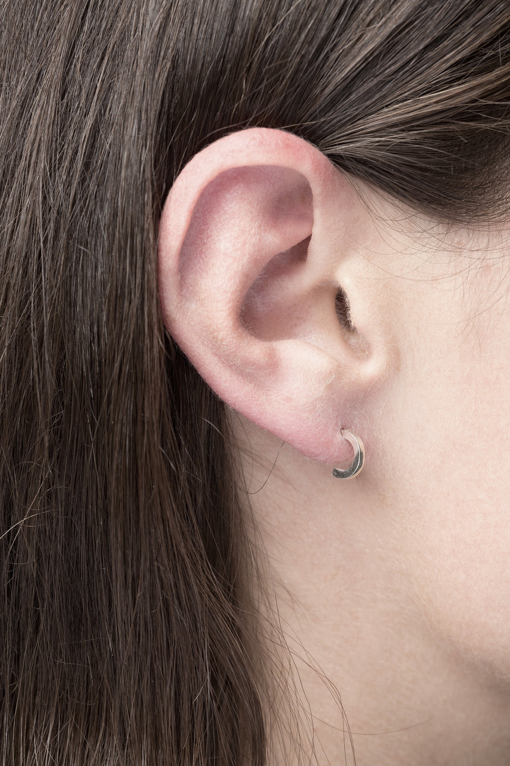 earring phase S | silver-1
