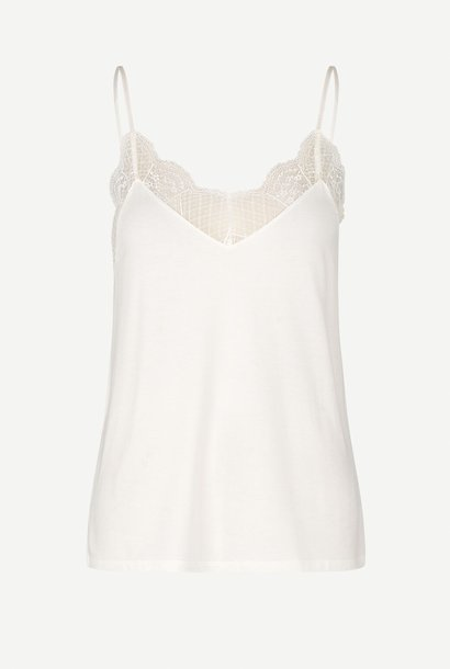 linda top | clear cream