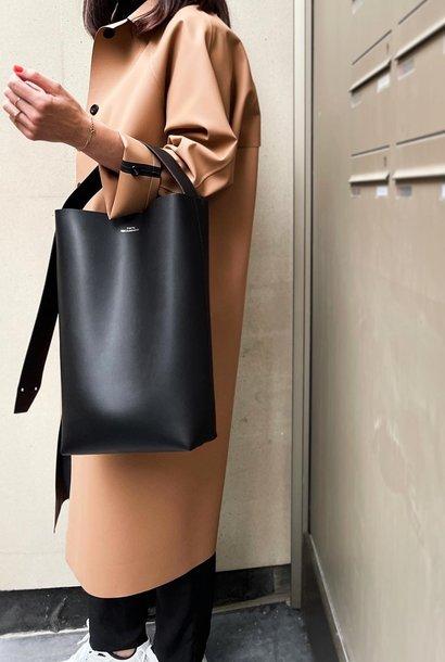 work bag sandra | black leather