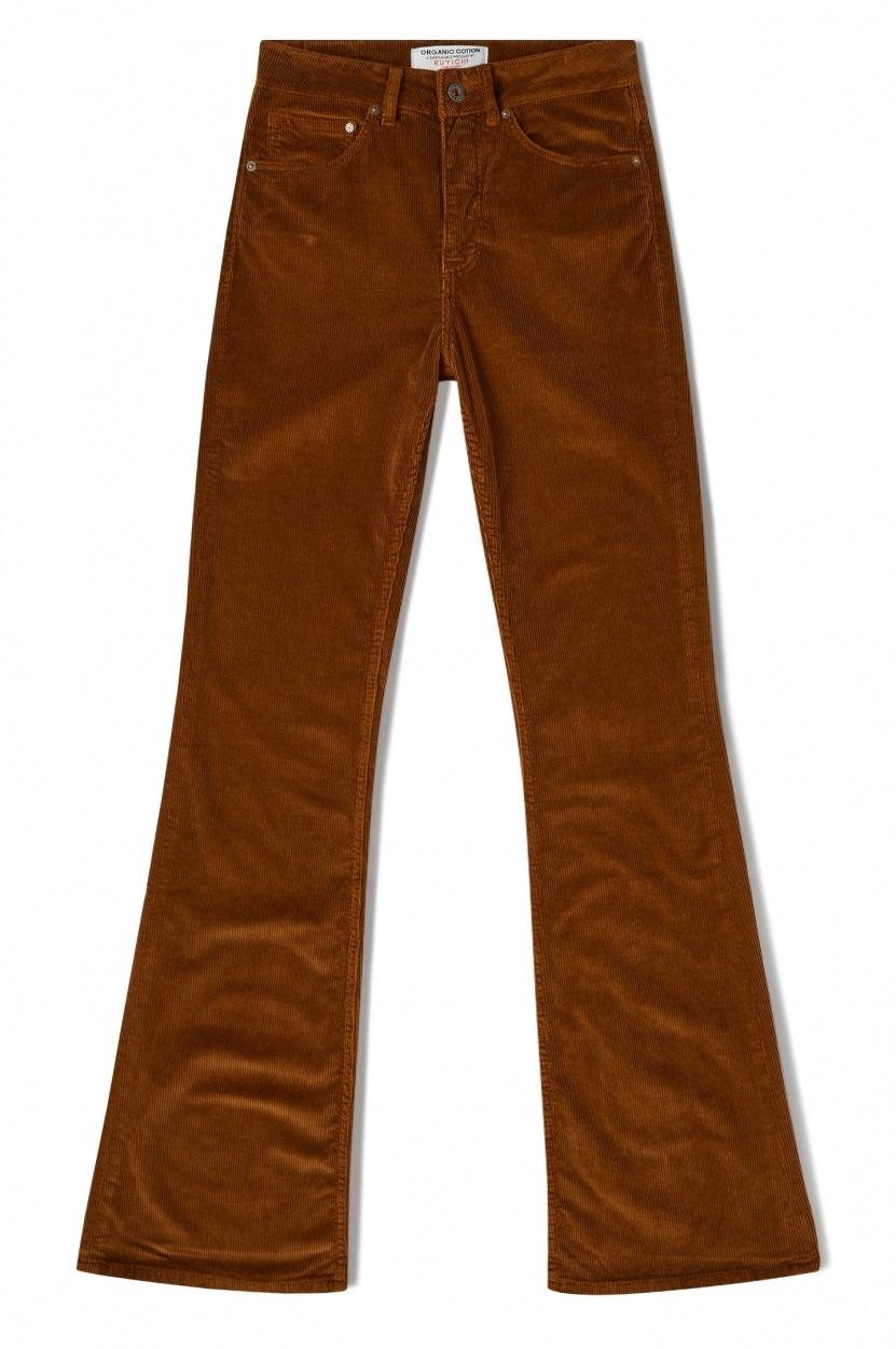 lisette flare corduroy   golden brown-2