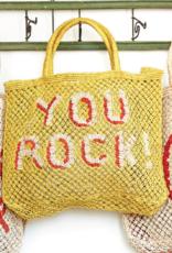 jute bag You Rock