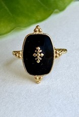 Black Email Ring