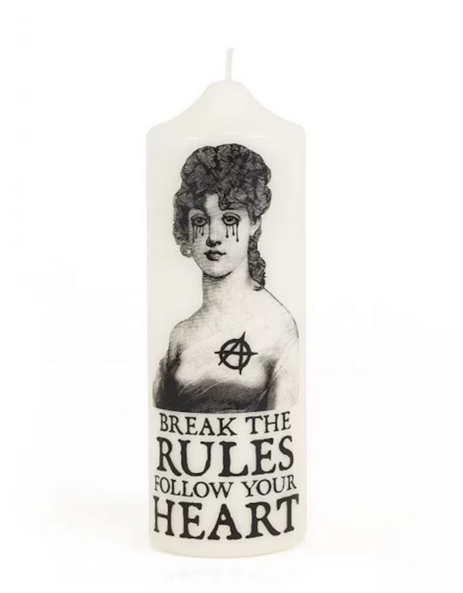 "Candle  ""Break the rules"""