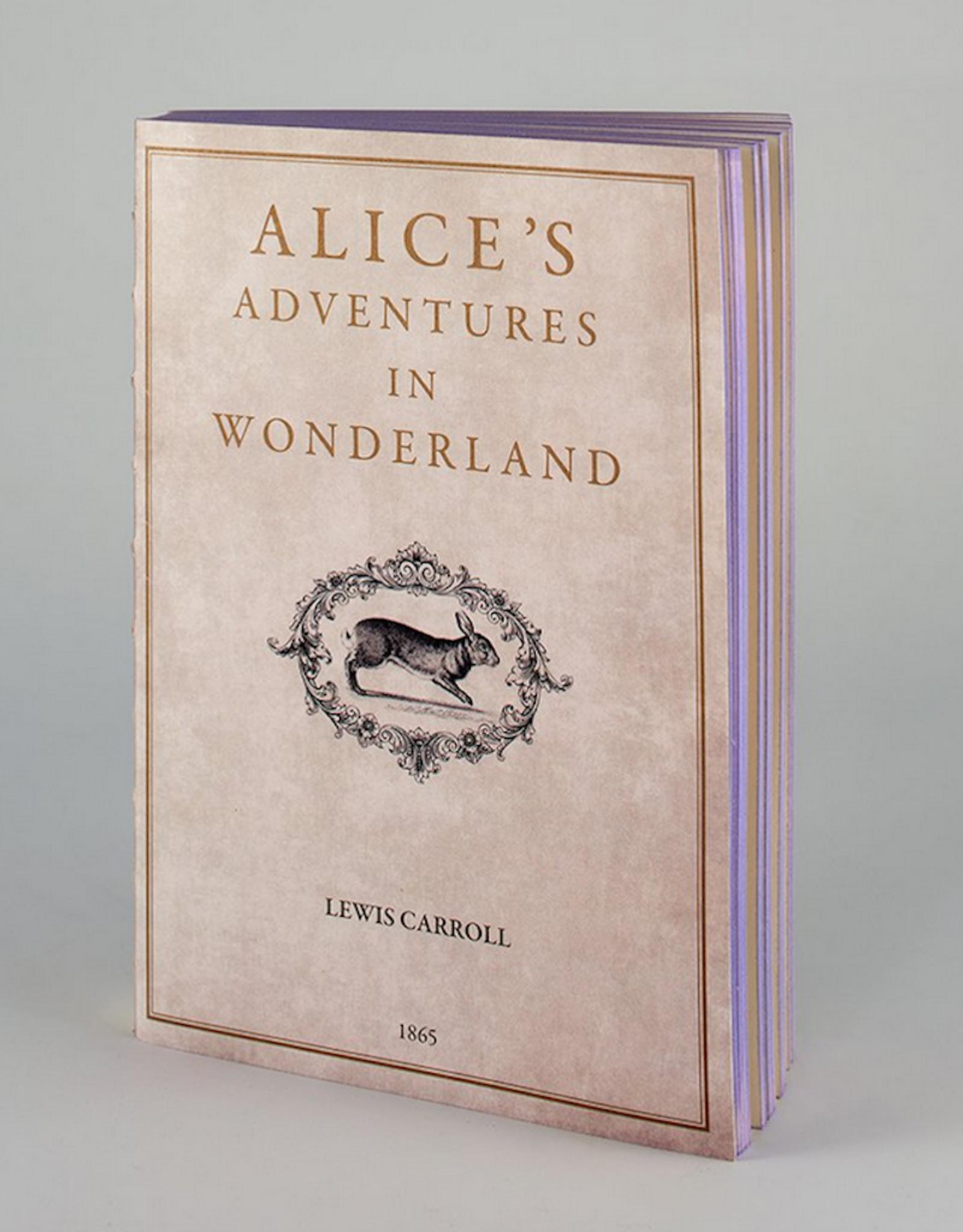 """Notebook """"Alice adventures in wonderland"""""""