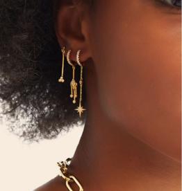 Soho Earrings (Gold)