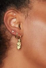 """Main De Protection"" Earring"