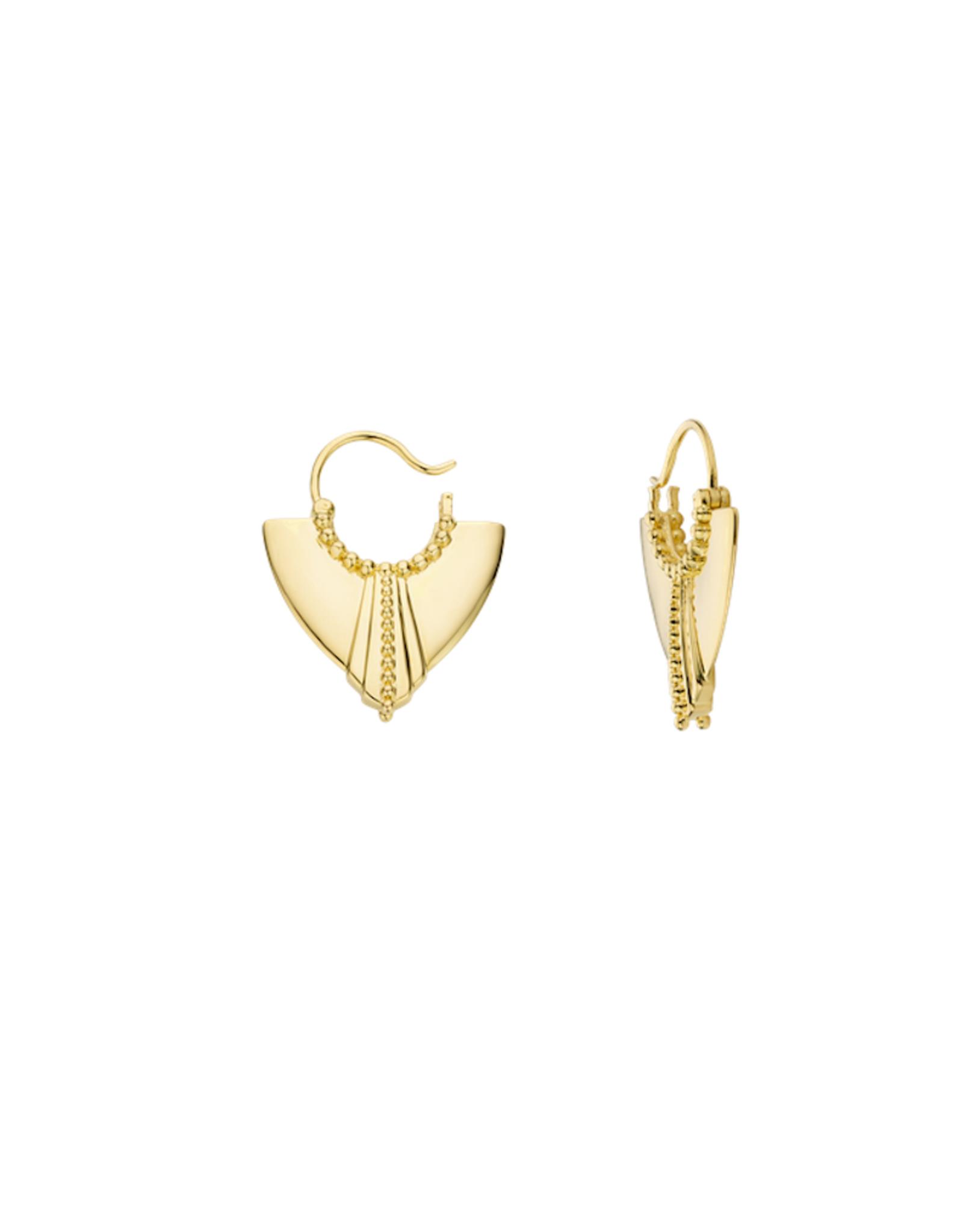 Freida Earrings Gold