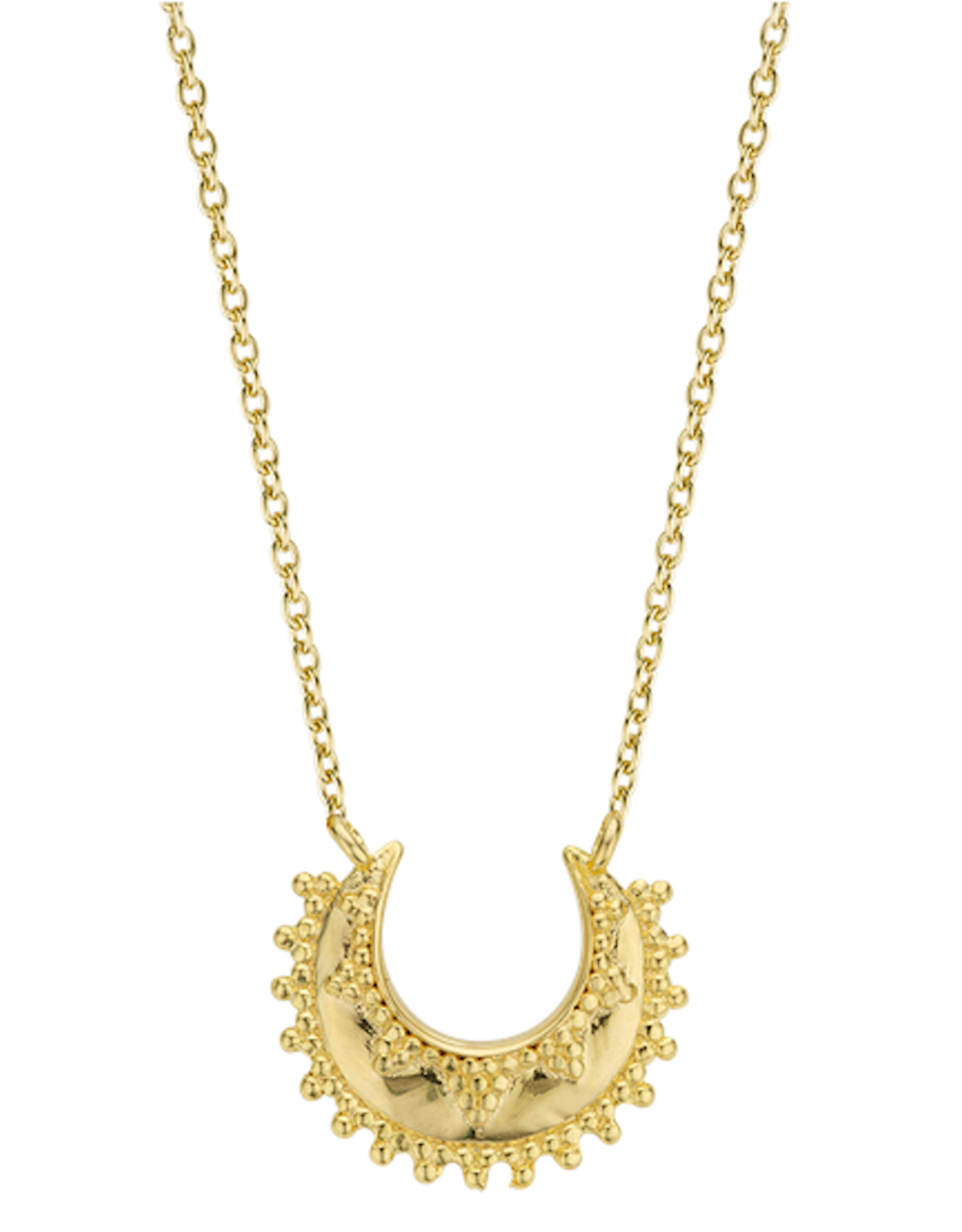 Moon Necklace (Gold)
