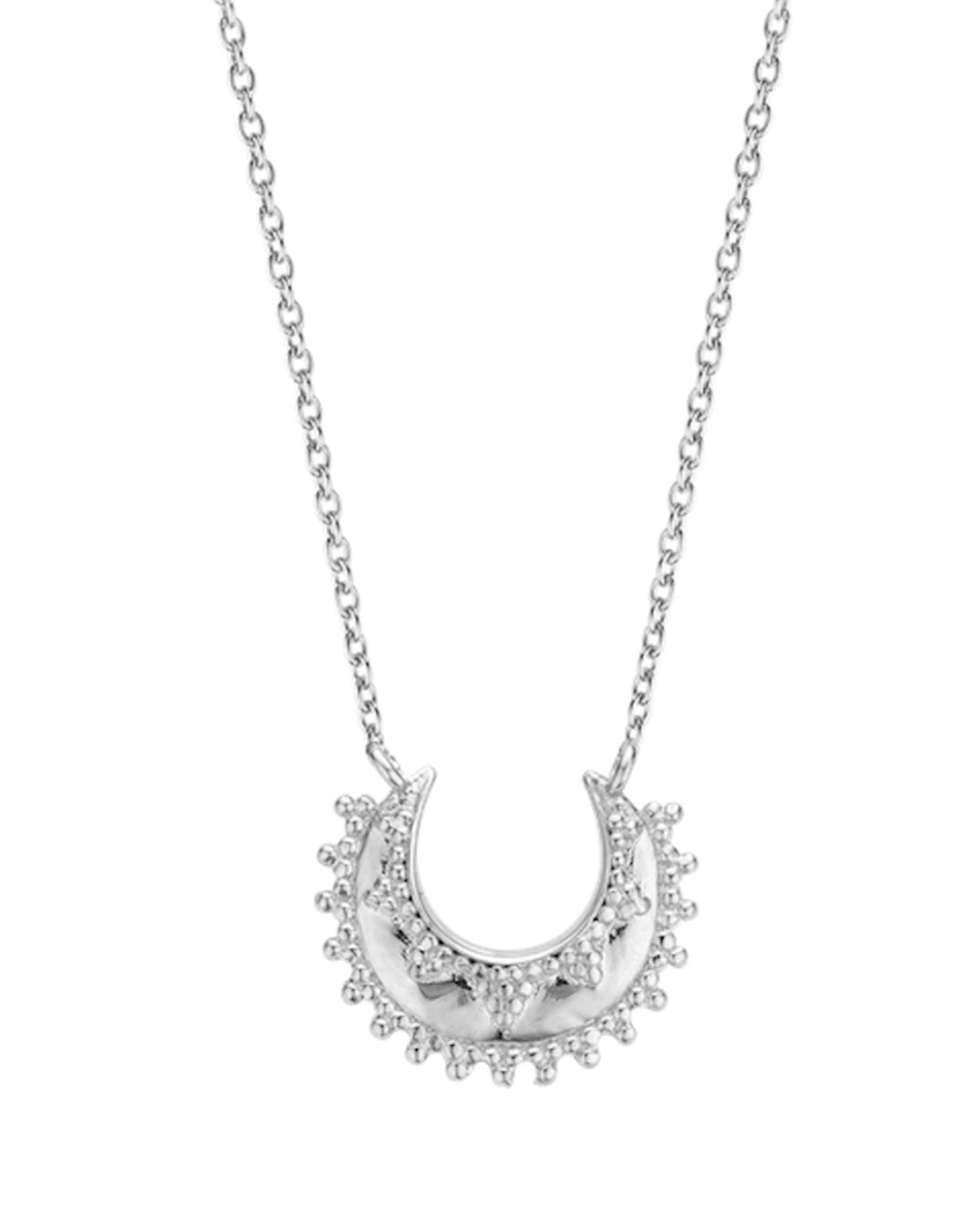 Moon Necklace (Silver)