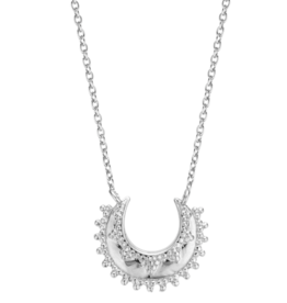 Moon Necklace (Silver)