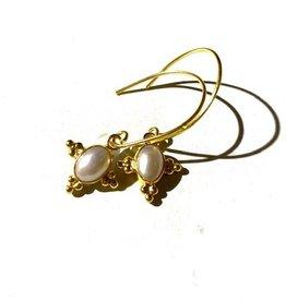 Pushkar Earring Pearl