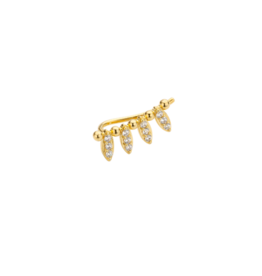 Ray Earring (Gold)