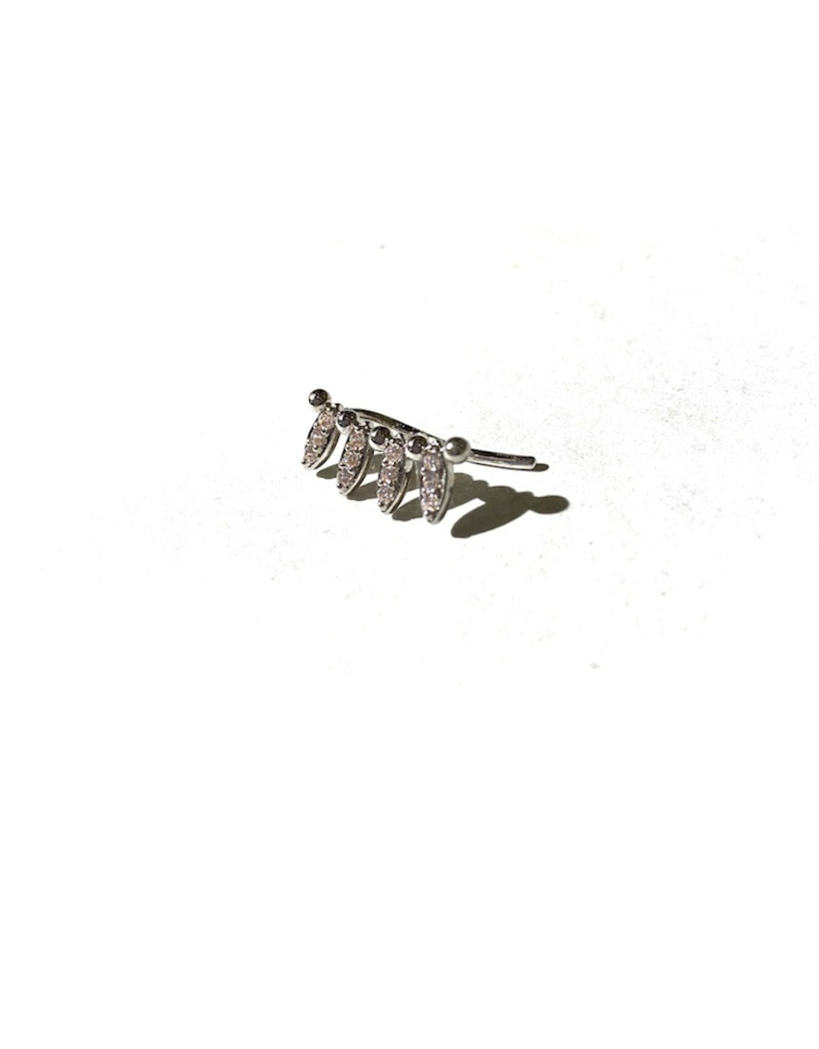Ray Earring (Silver)