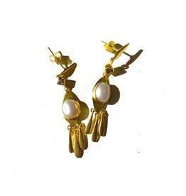 Goa Trip Earring Pearl