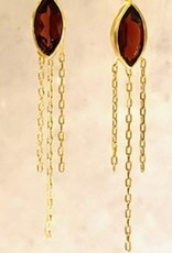 Bomb-y-love Earring Garnet