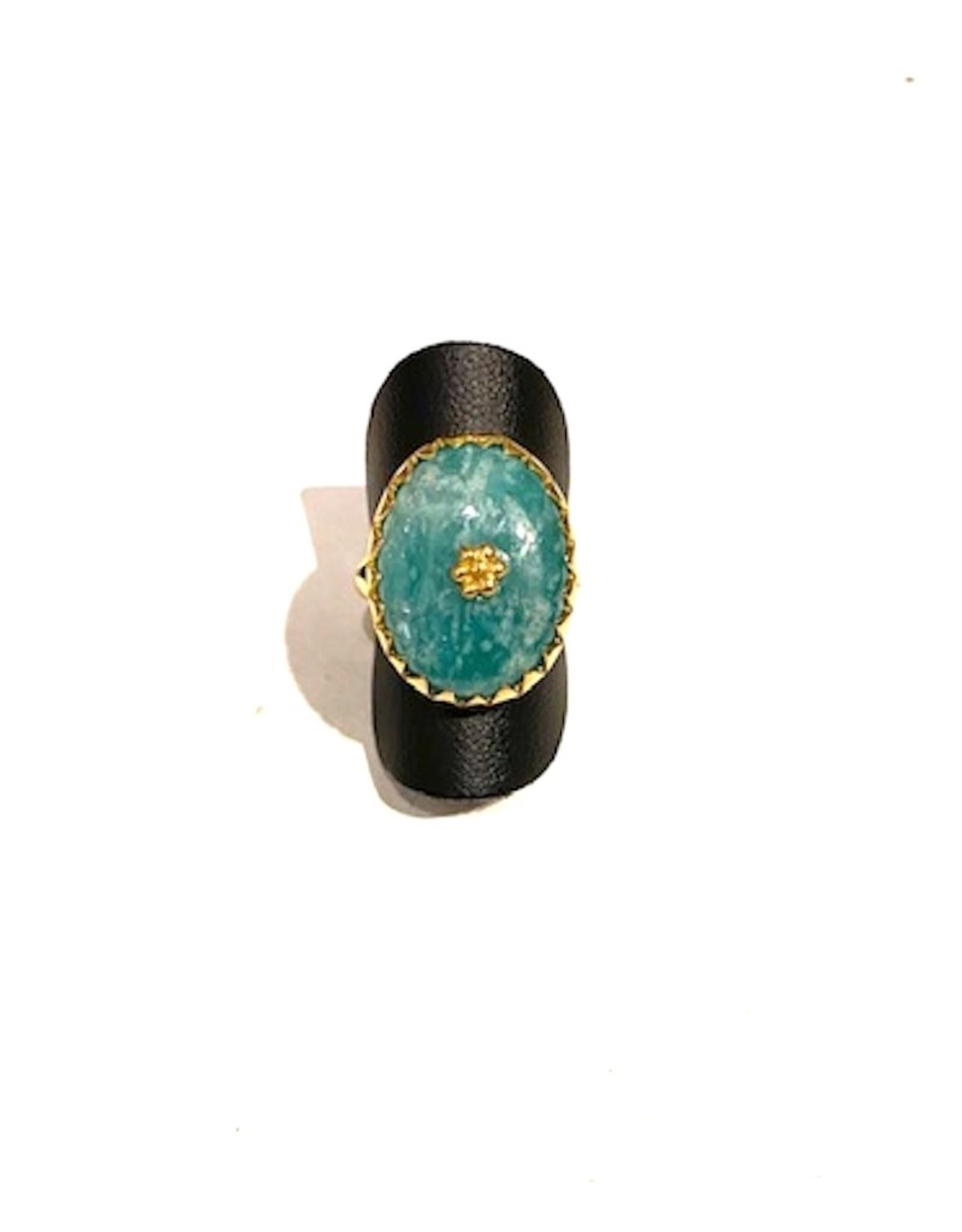 Ring Amazonite