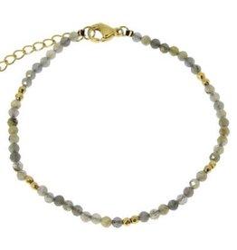 Fine Bracelet  Labradorite
