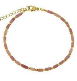 Lea Bracelet Rhodonite